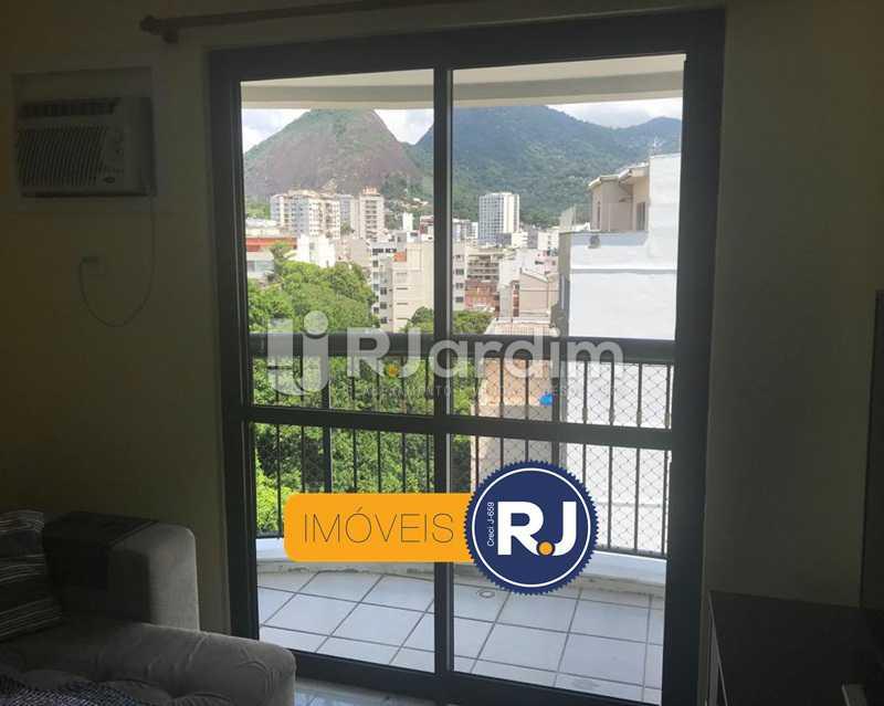 SALA/VARANDA - Cobertura à venda Rua das Laranjeiras,Laranjeiras, Zona Sul,Rio de Janeiro - R$ 980.000 - LACO10022 - 9