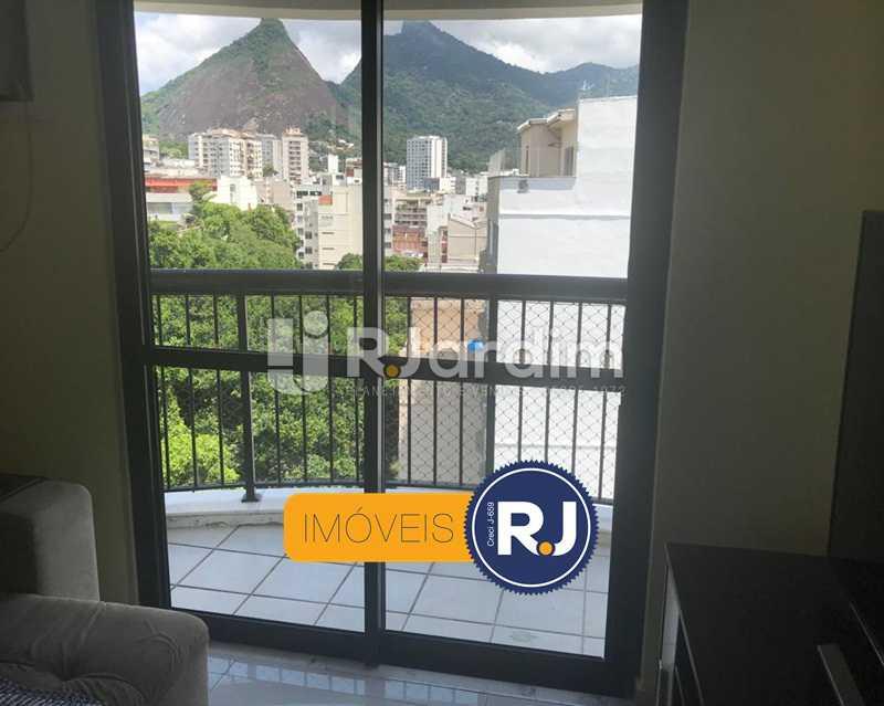 SALA/VARANDA - Cobertura à venda Rua das Laranjeiras,Laranjeiras, Zona Sul,Rio de Janeiro - R$ 980.000 - LACO10022 - 11
