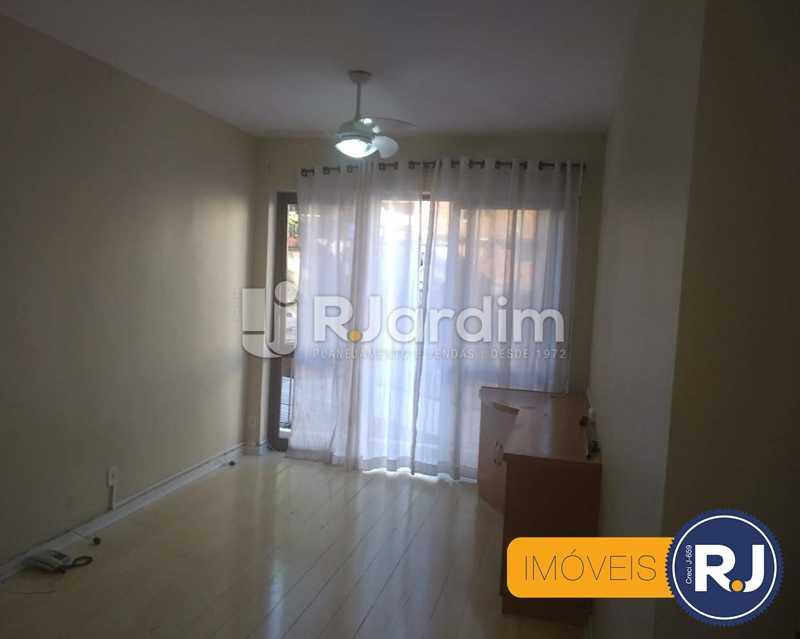 Sala - Apartamento À Venda - Humaitá - Rio de Janeiro - RJ - LAAP10356 - 3