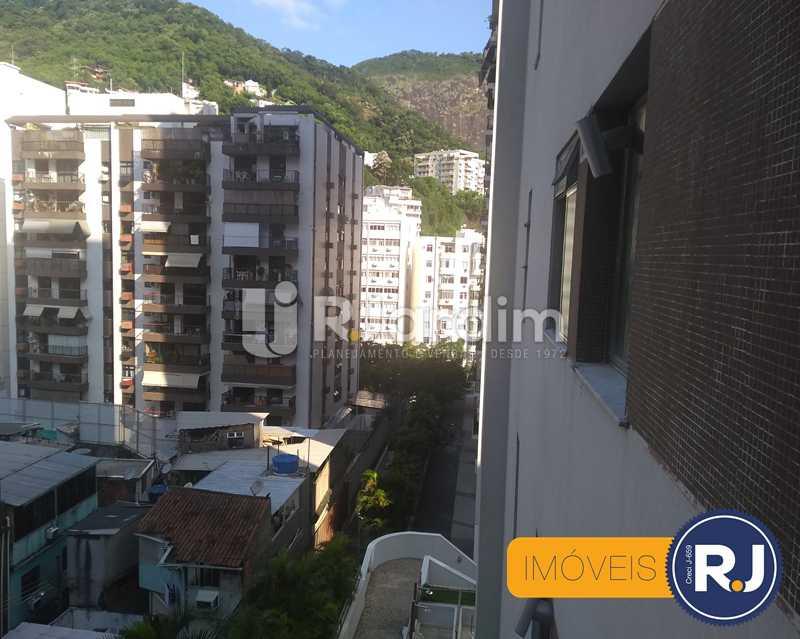vista - Apartamento À Venda - Humaitá - Rio de Janeiro - RJ - LAAP10356 - 5