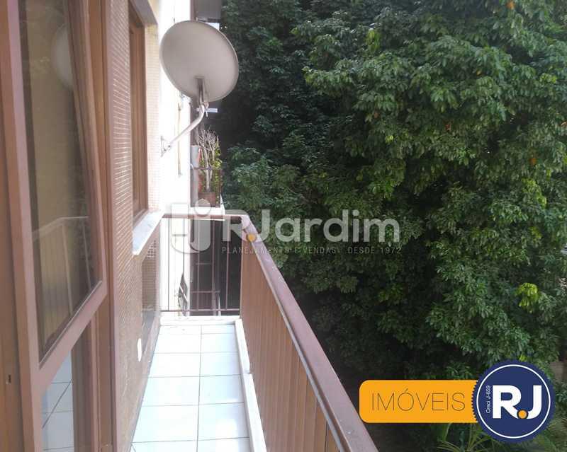 varanda  - Apartamento À Venda - Humaitá - Rio de Janeiro - RJ - LAAP10356 - 6