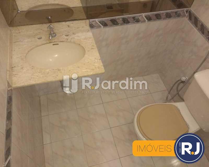 Banheiro - Apartamento À Venda - Humaitá - Rio de Janeiro - RJ - LAAP10356 - 7