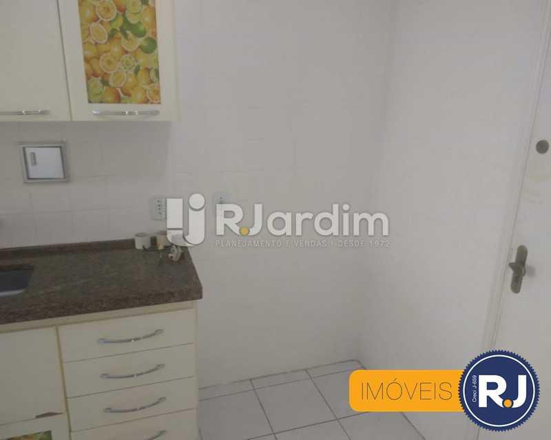 cozinha - Apartamento À Venda - Humaitá - Rio de Janeiro - RJ - LAAP10356 - 9