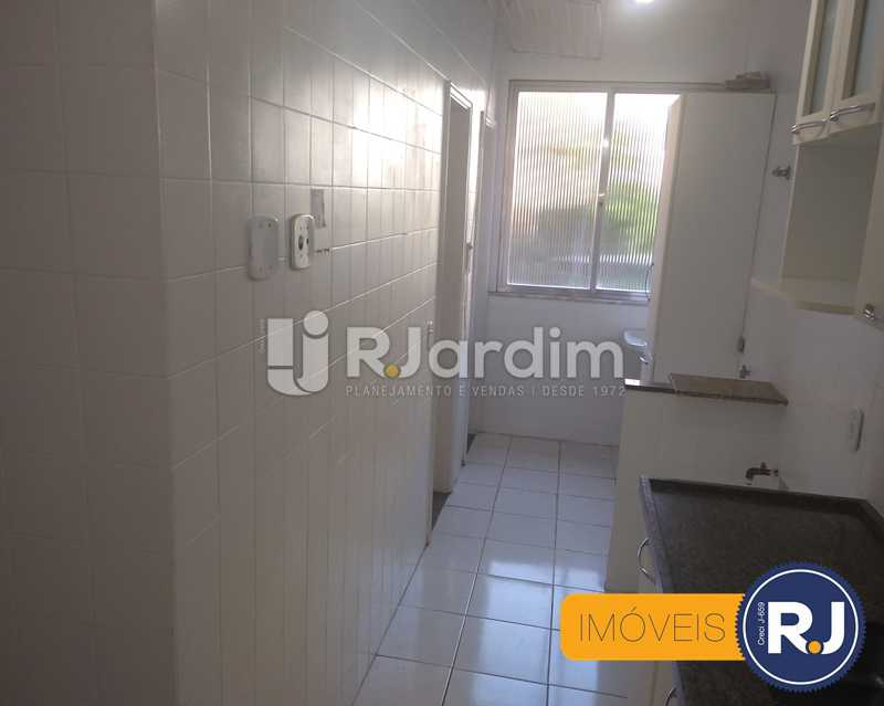 cozinha - Apartamento À Venda - Humaitá - Rio de Janeiro - RJ - LAAP10356 - 10