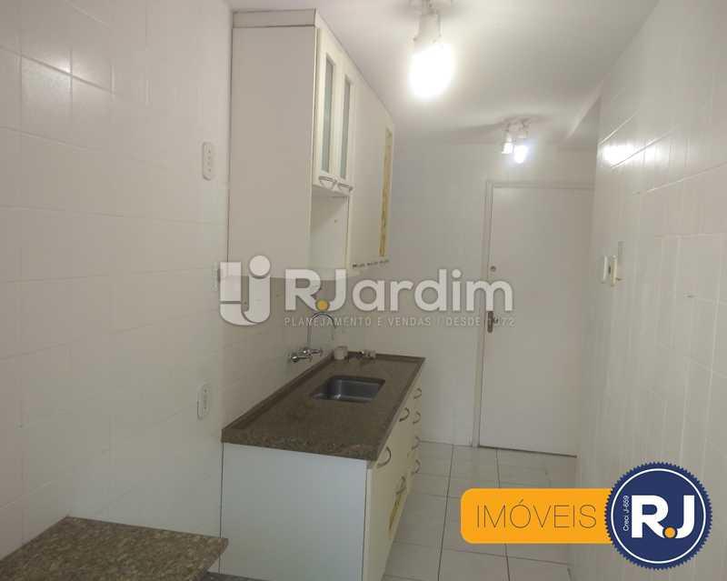 cozinha - Apartamento À Venda - Humaitá - Rio de Janeiro - RJ - LAAP10356 - 11