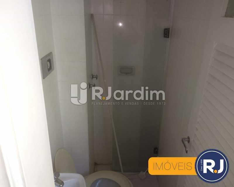 Banheiro - Apartamento À Venda - Humaitá - Rio de Janeiro - RJ - LAAP10356 - 12