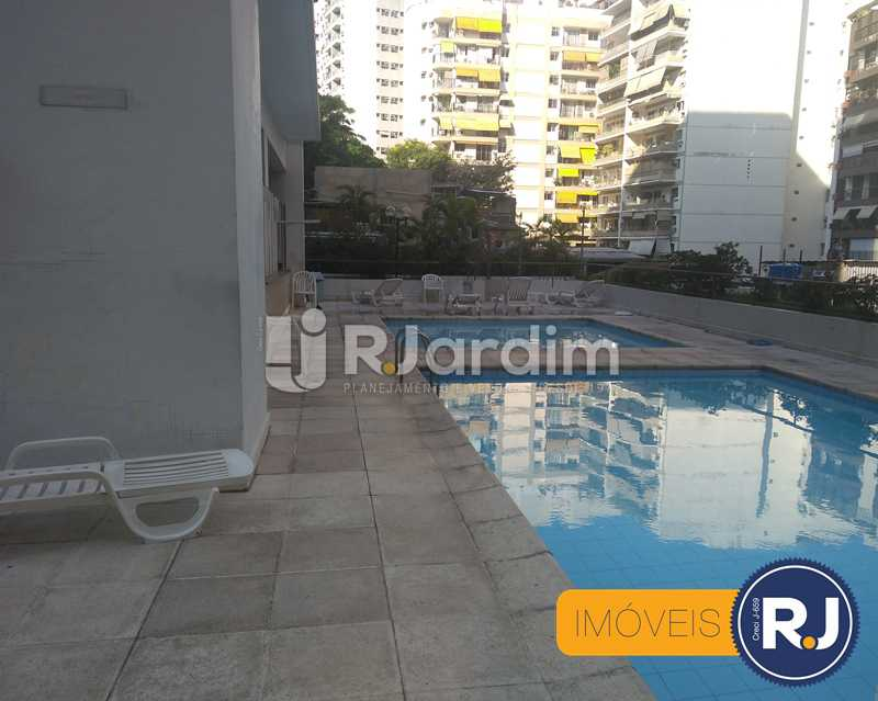 Piscina - Apartamento À Venda - Humaitá - Rio de Janeiro - RJ - LAAP10356 - 15