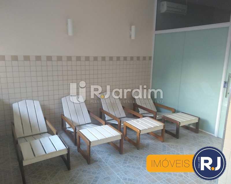 Sauna - Apartamento À Venda - Humaitá - Rio de Janeiro - RJ - LAAP10356 - 16