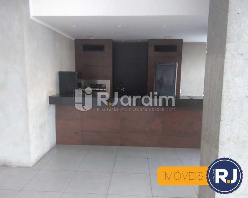 salão de festas - Apartamento À Venda - Humaitá - Rio de Janeiro - RJ - LAAP10356 - 19