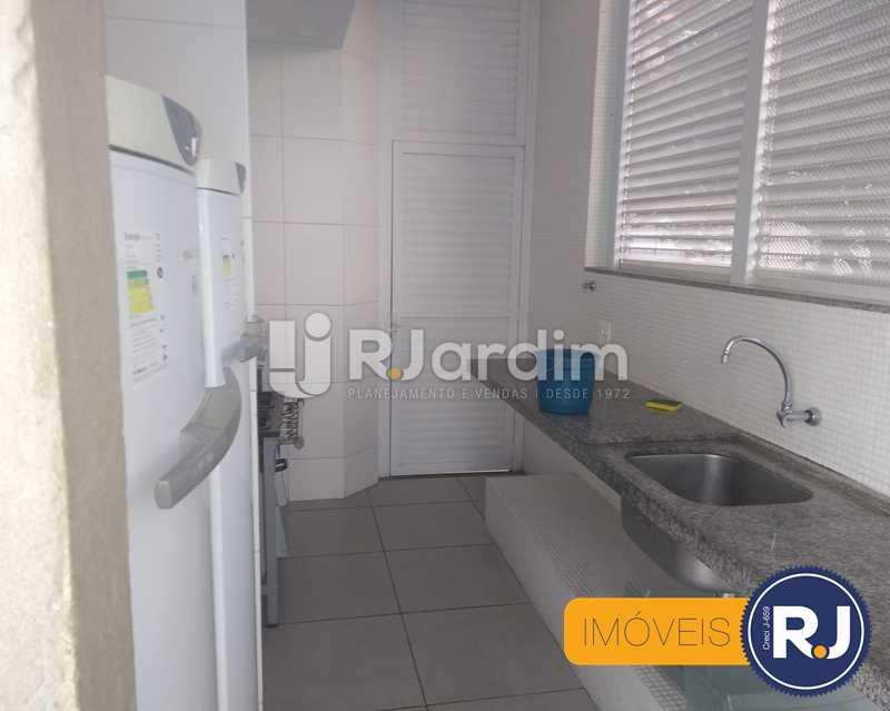 cozinha - Apartamento À Venda - Humaitá - Rio de Janeiro - RJ - LAAP10356 - 20