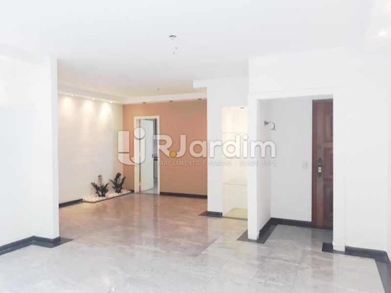 sala - Apartamento de 3 quartos sendo 1 suíte na Lagoa - LAAP32069 - 3