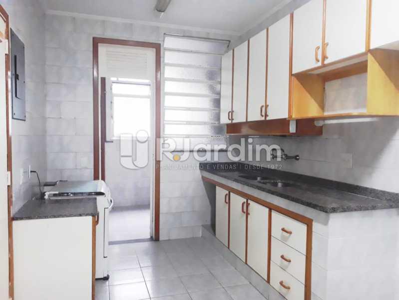 cozinha - Apartamento de 3 quartos sendo 1 suíte na Lagoa - LAAP32069 - 16