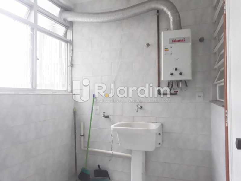 area de serviço - Apartamento de 3 quartos sendo 1 suíte na Lagoa - LAAP32069 - 18