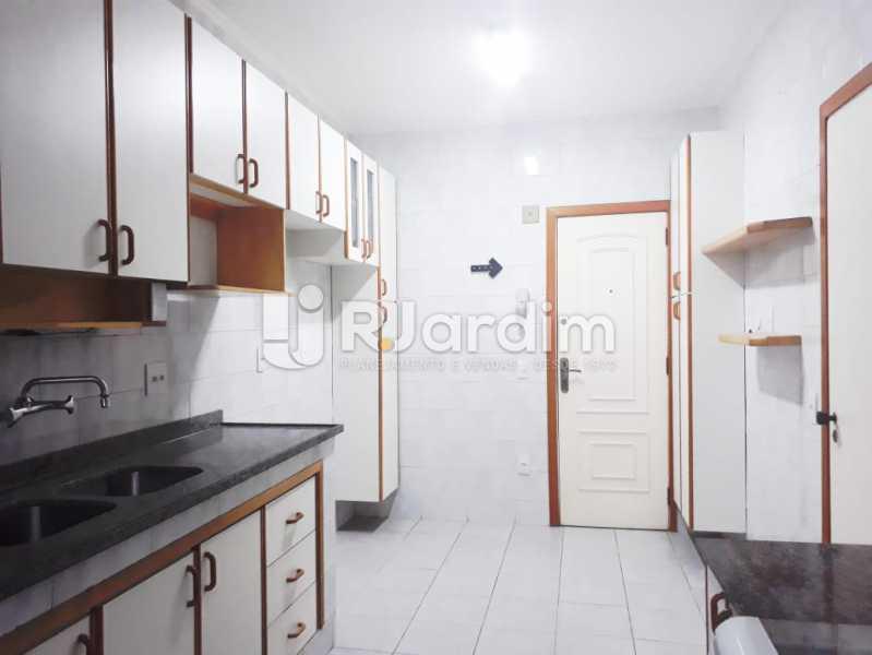 cozinha - Apartamento de 3 quartos sendo 1 suíte na Lagoa - LAAP32069 - 17