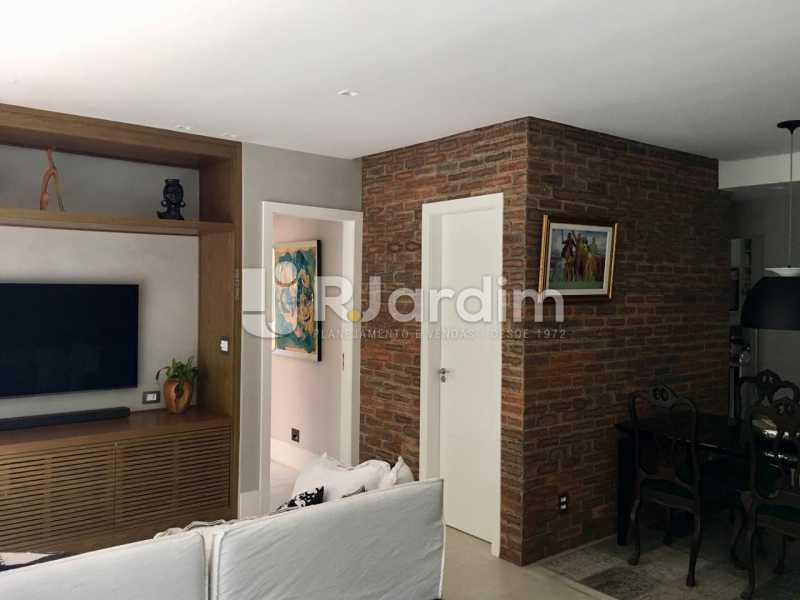 Sala - Apartamento À Venda - Lagoa - Rio de Janeiro - RJ - LAAP21460 - 14