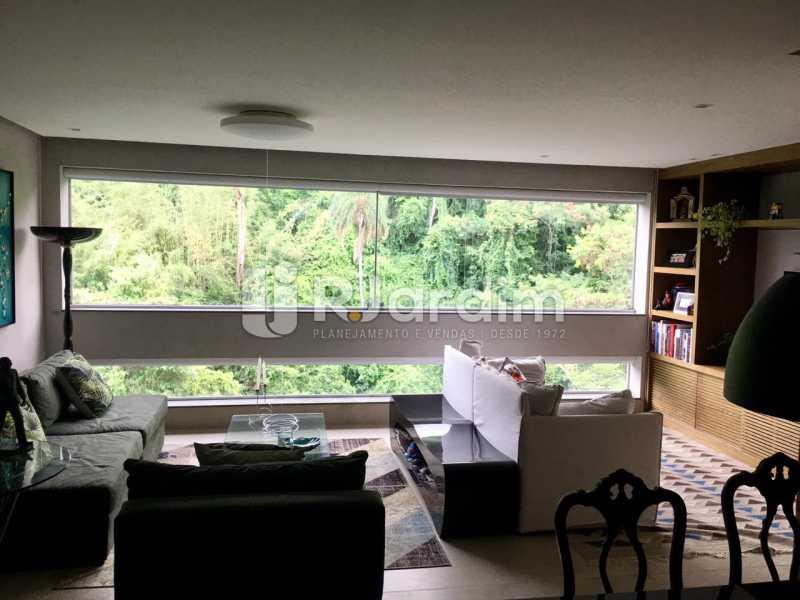 Sala - Apartamento À Venda - Lagoa - Rio de Janeiro - RJ - LAAP21460 - 3