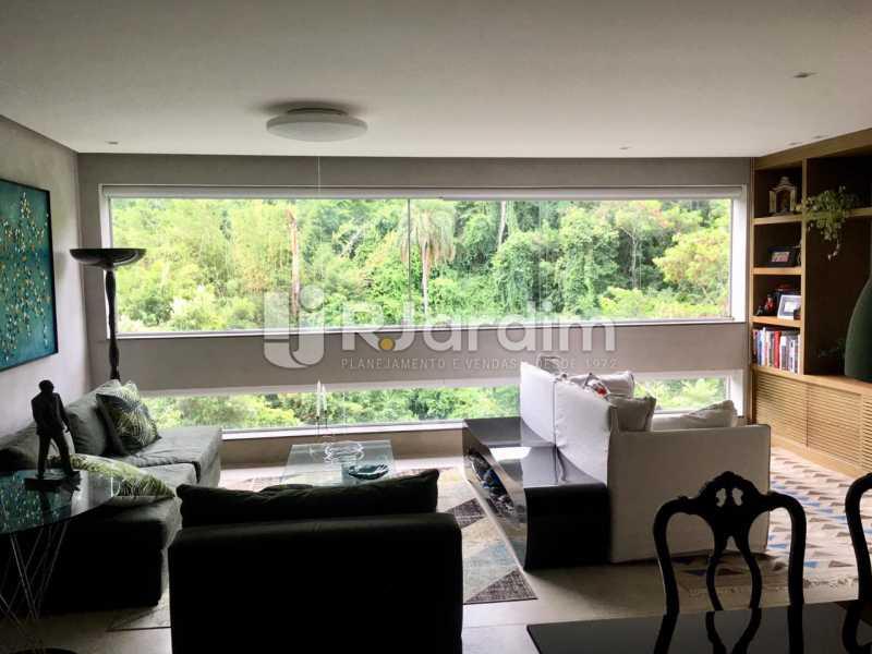 Sala - Apartamento À Venda - Lagoa - Rio de Janeiro - RJ - LAAP21460 - 5