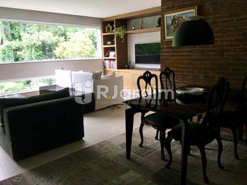 Sala - Apartamento À Venda - Lagoa - Rio de Janeiro - RJ - LAAP21460 - 10