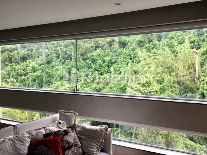 Sala - Apartamento À Venda - Lagoa - Rio de Janeiro - RJ - LAAP21460 - 12