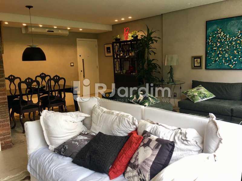 Sala - Apartamento À Venda - Lagoa - Rio de Janeiro - RJ - LAAP21460 - 1