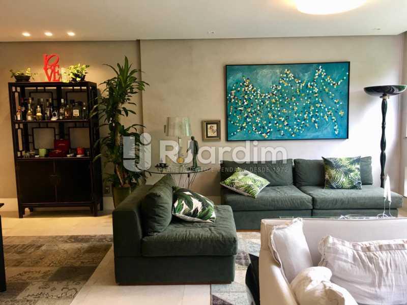 Sala - Apartamento À Venda - Lagoa - Rio de Janeiro - RJ - LAAP21460 - 4