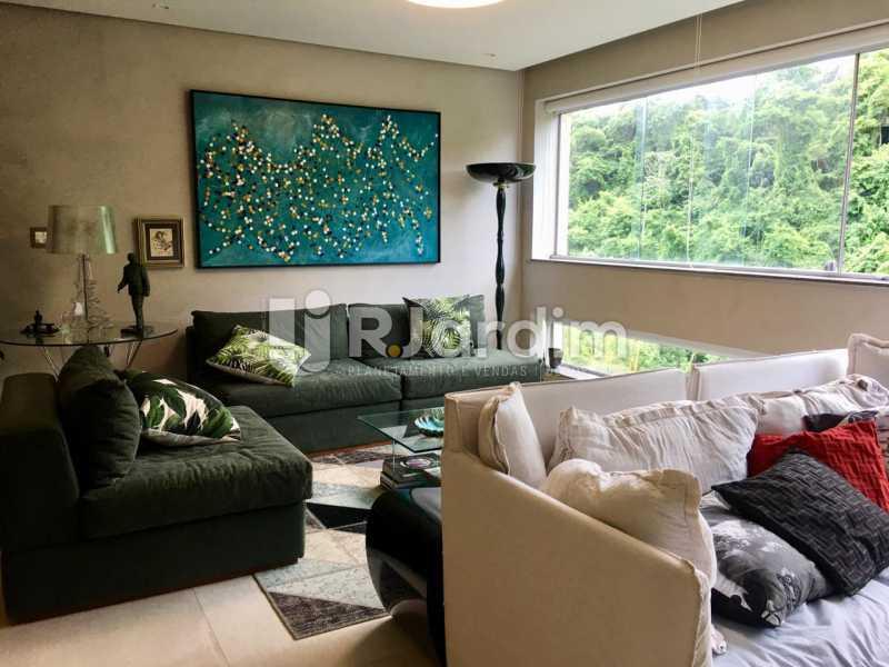Sala - Apartamento À Venda - Lagoa - Rio de Janeiro - RJ - LAAP21460 - 13