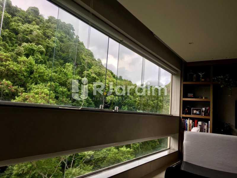 Sala - Apartamento À Venda - Lagoa - Rio de Janeiro - RJ - LAAP21460 - 6