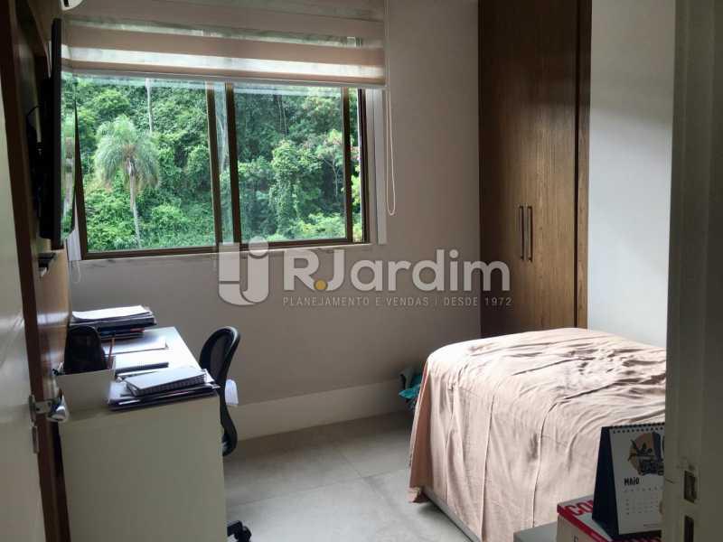Quarto - Apartamento À Venda - Lagoa - Rio de Janeiro - RJ - LAAP21460 - 24