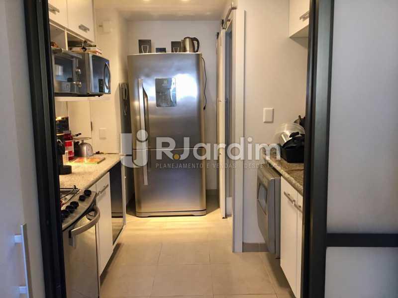 Cozinha - Apartamento À Venda - Lagoa - Rio de Janeiro - RJ - LAAP21460 - 28