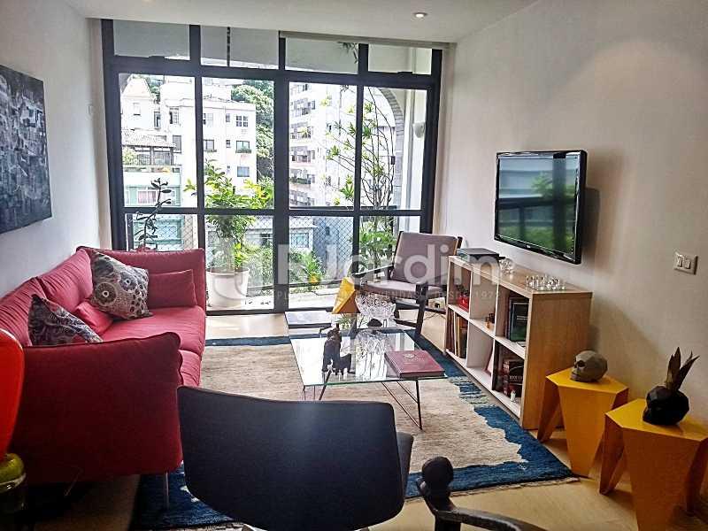 Sala em 2 ambientes - Cobertura Leblon, Zona Sul,Rio de Janeiro, RJ À Venda, 3 Quartos, 216m² - BGCO30001 - 3