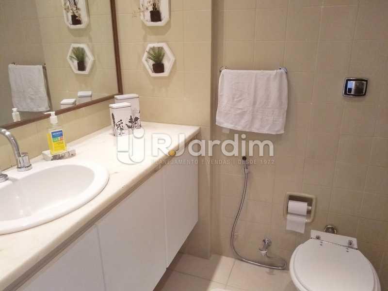 Banheiro Socail - Cobertura Leblon, Zona Sul,Rio de Janeiro, RJ À Venda, 3 Quartos, 216m² - BGCO30001 - 14