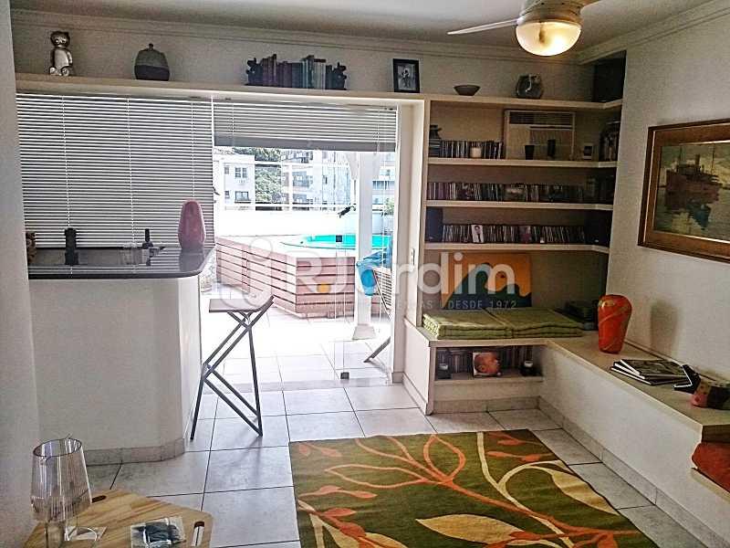 Lounge - Cobertura Leblon, Zona Sul,Rio de Janeiro, RJ À Venda, 3 Quartos, 216m² - BGCO30001 - 19