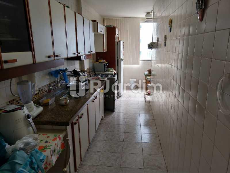 Cozinha - Apartamento Leblon 3 Quartos Compra Venda Avaliação Imóveis - LAAP32098 - 15