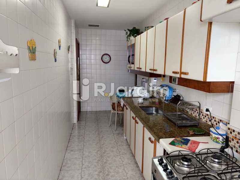 Cozinha - Apartamento Leblon 3 Quartos Compra Venda Avaliação Imóveis - LAAP32098 - 17