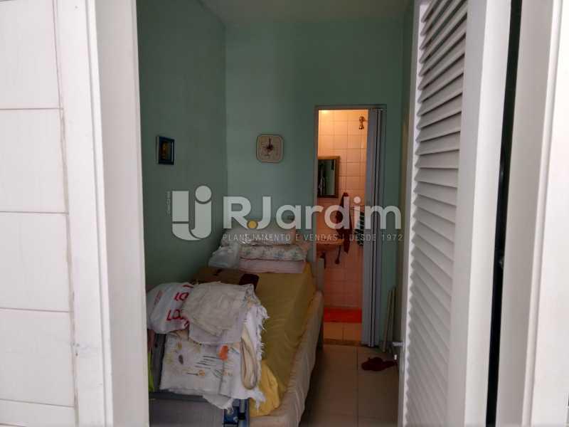 Quarto de serviço - Apartamento Leblon 3 Quartos Compra Venda Avaliação Imóveis - LAAP32098 - 18