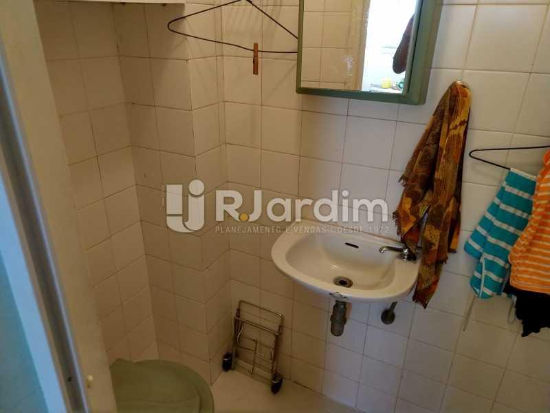 Banheiro de serviço - Apartamento Leblon 3 Quartos Compra Venda Avaliação Imóveis - LAAP32098 - 19