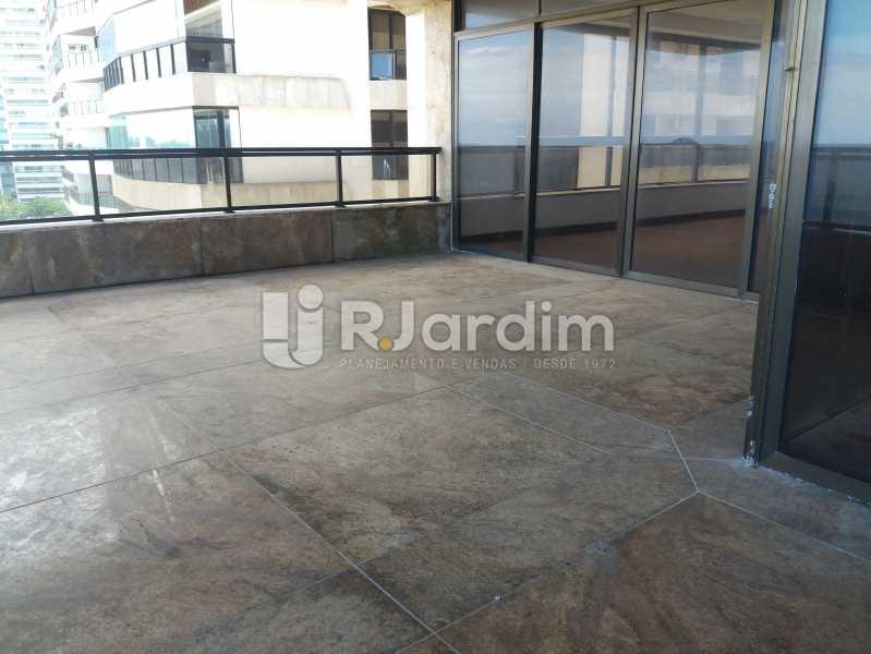 Varanda frontal - Apartamento À Venda - São Conrado - Rio de Janeiro - RJ - LAAP50048 - 6