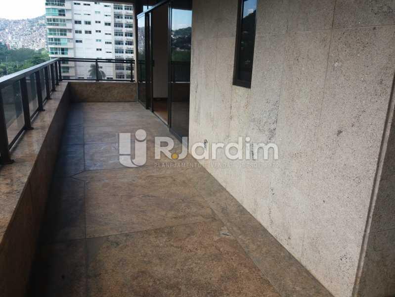Varanda suíte master - Apartamento À Venda - São Conrado - Rio de Janeiro - RJ - LAAP50048 - 10