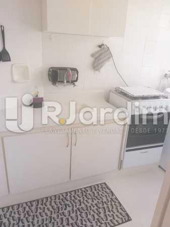 Cozinha - Flat para alugar Rua Almirante Guilhem,Leblon, Zona Sul,Rio de Janeiro - R$ 3.700 - LAFL10089 - 12