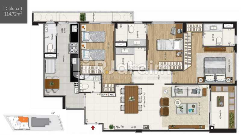 - Botanique 211 Apartamento Jardim Botânico 3 Quartos - LAAP32076 - 10