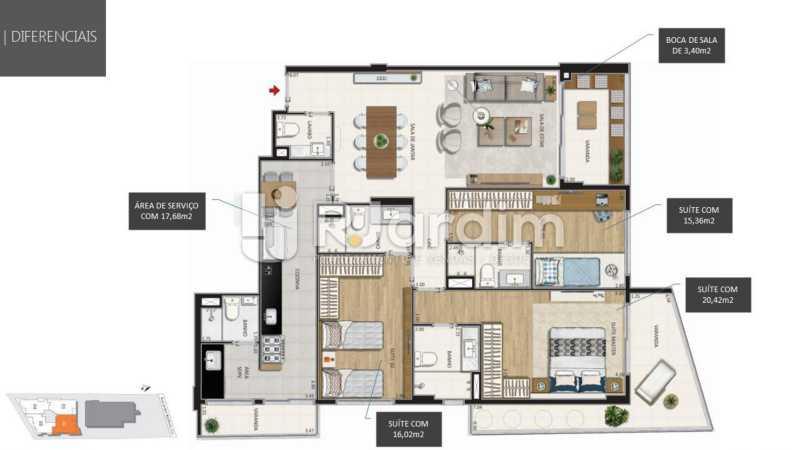 - Botanique 211 Apartamento Jardim Botânico 3 Quartos - LAAP32076 - 12