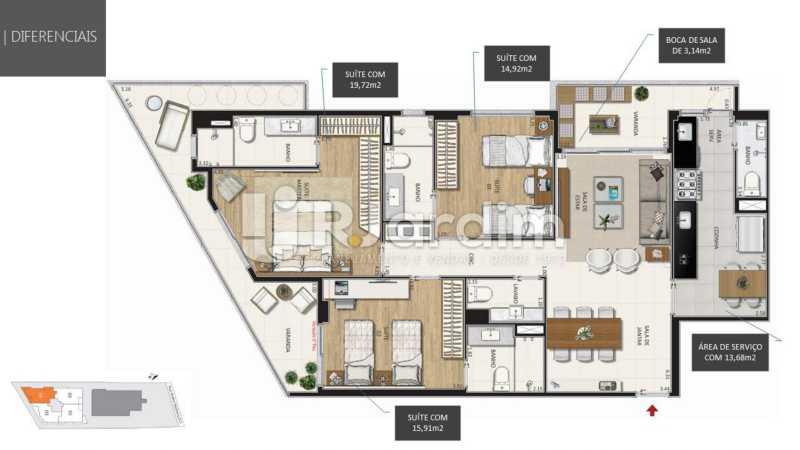 - Botanique 211 Apartamento Jardim Botânico 3 Quartos - LAAP32076 - 15
