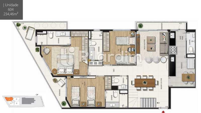- Botanique 211 Apartamento Jardim Botânico 3 Quartos - LAAP32076 - 24