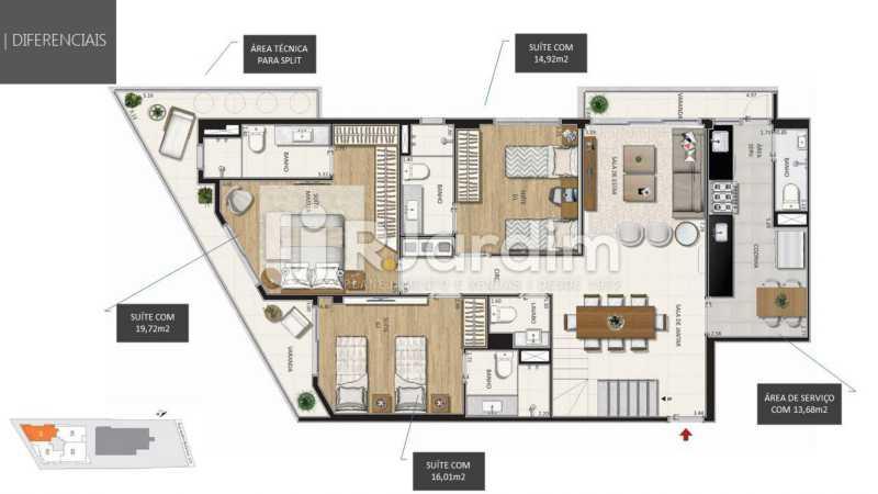 - Botanique 211 Apartamento Jardim Botânico 3 Quartos - LAAP32076 - 25