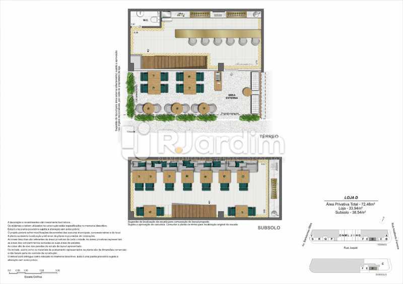 Planta_Loja-D. - Loja 45m² à venda Leblon, Zona Sul,Rio de Janeiro - R$ 1.728.658 - LALJ00135 - 9