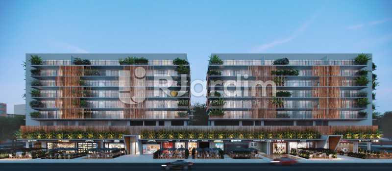 Fachada - Loja 45m² à venda Leblon, Zona Sul,Rio de Janeiro - R$ 1.728.658 - LALJ00135 - 5