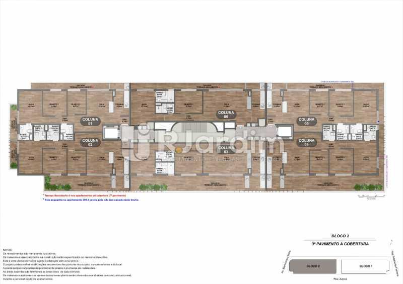 Bloco2_3o-Pavimento-Cobertura. - Loja 45m² à venda Leblon, Zona Sul,Rio de Janeiro - R$ 1.728.658 - LALJ00135 - 16