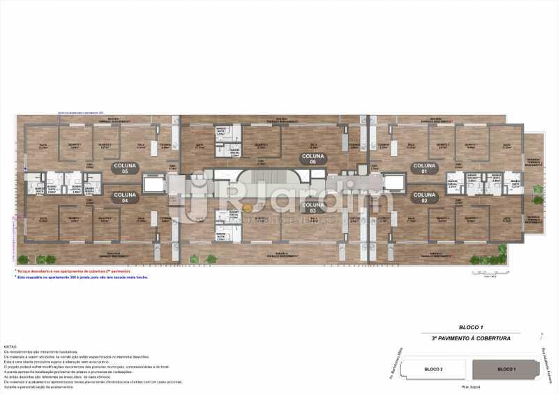 Bloco1_3o-Pavimento-Cobertura. - Loja 45m² à venda Leblon, Zona Sul,Rio de Janeiro - R$ 1.728.658 - LALJ00135 - 15