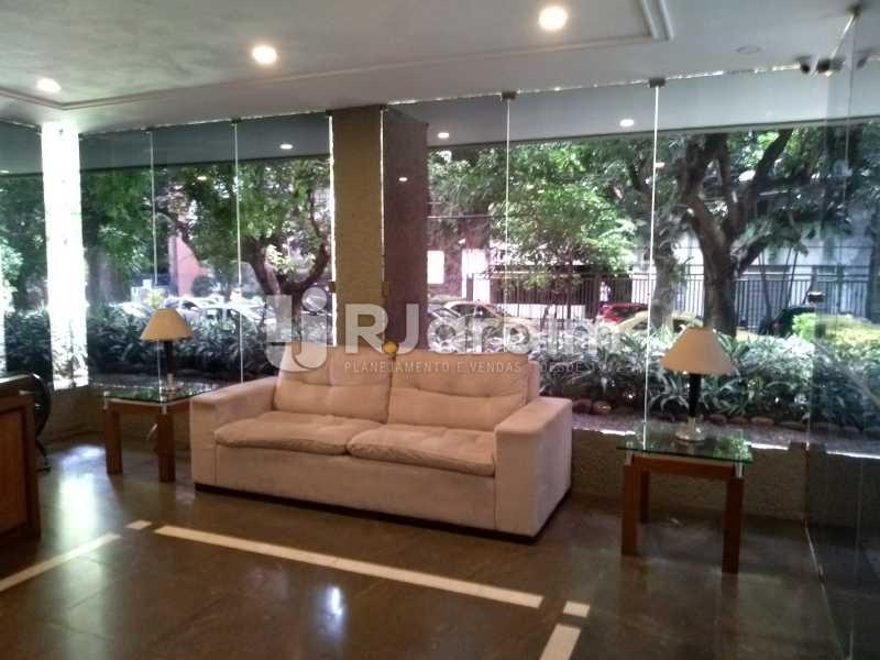 Portaria  - Apartamento à venda Avenida Lineu de Paula Machado,Jardim Botânico, Zona Sul,Rio de Janeiro - R$ 1.390.000 - LAAP21469 - 1