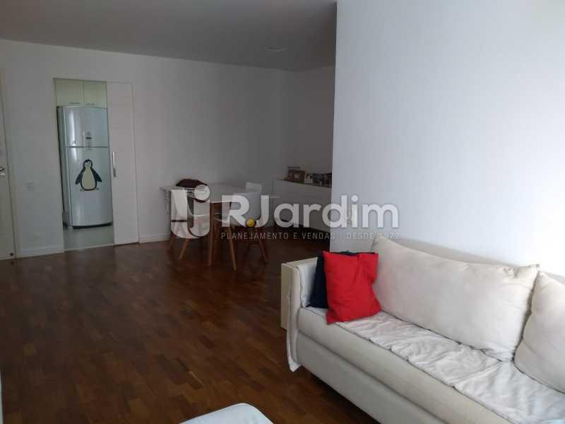 sala - Apartamento à venda Avenida Lineu de Paula Machado,Jardim Botânico, Zona Sul,Rio de Janeiro - R$ 1.390.000 - LAAP21469 - 10